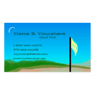 18th Hole Business Card