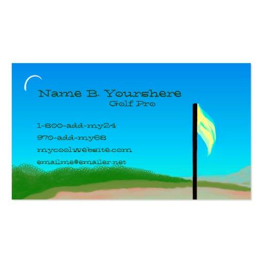 18th Hole Business Card