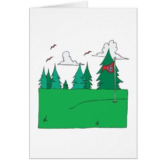 18th Hole Card