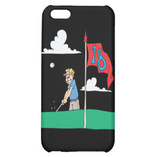 18th Hole Cover For iPhone 5C