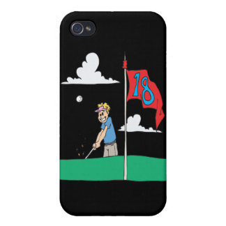 18th Hole Covers For iPhone 4