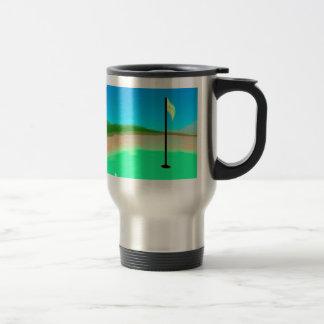 18th Hole Golfer's Travel Mug