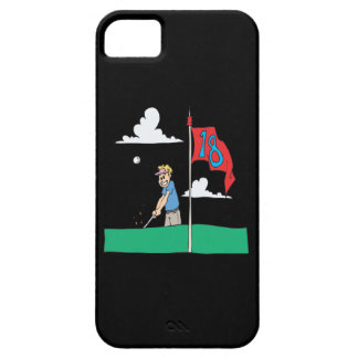 18th Hole iPhone 5 Cover