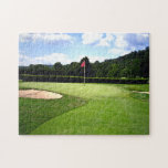"""18th Hole Jigsaw Puzzle<br><div class=""""desc"""">If the snow is keeping you from golfing at least do a puzzle.</div>"""