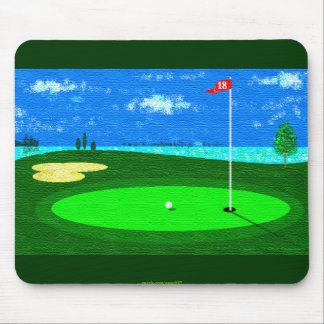 18th Hole Mouse Pad