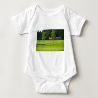18th Hole of The Golf Course Baby Bodysuit