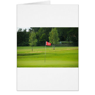 18th Hole of The Golf Course Card