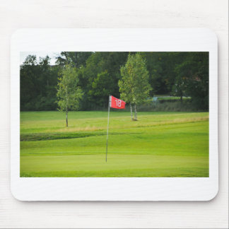 18th Hole of The Golf Course Mouse Pad