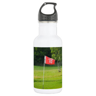 18th Hole of The Golf Course Stainless Steel Water Bottle