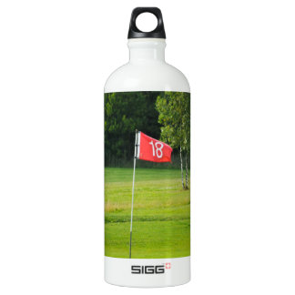 18th Hole of The Golf Course Water Bottle