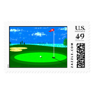 18th Hole Stamp
