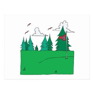 18th Hole Postcard
