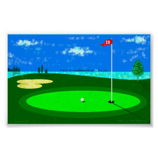 18th Hole Poster
