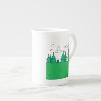18th Hole Porcelain Mugs