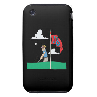 18th Hole Tough iPhone 3 Cases