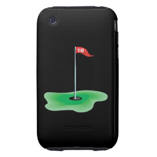 18th Hole Tough iPhone 3 Cover