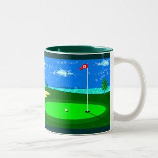 18th Hole Two-Tone Coffee Mug