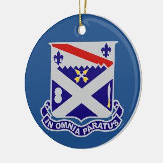 18th Infantry Regiment Ceramic Ornament