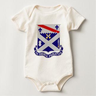 18th Infantry Regiment - IN OMNIA PARATUS Baby Bodysuit