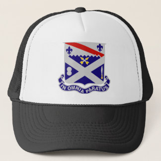 18th Infantry Regiment - IN OMNIA PARATUS Trucker Hat