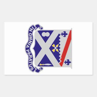 18th Infantry Regiment Rectangular Sticker