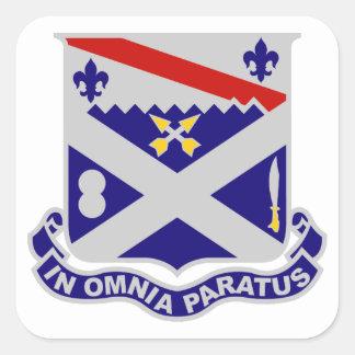 18th Infantry Regiment Square Sticker