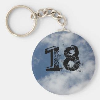 18th keychain