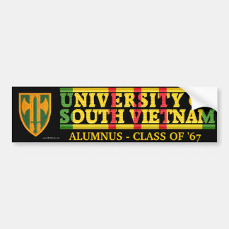 18th M.P. Bde. - U of S Vietnam Alumnus Sticker