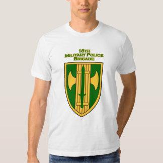 18th MP Brigade shoulder patch T-shirt