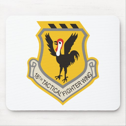 18th Tactical Fighter Wing Mousepads
