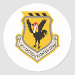 18th Tactical Fighter Wing Round Sticker