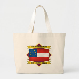 18th Tennessee Infantry Large Tote Bag