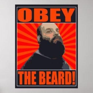 18x24 Beard of Gourdo Poster