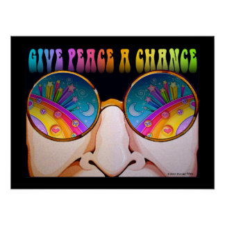 18x24 POSTER, ARCHIVAL PRINT - SHADES OF SIXTIES