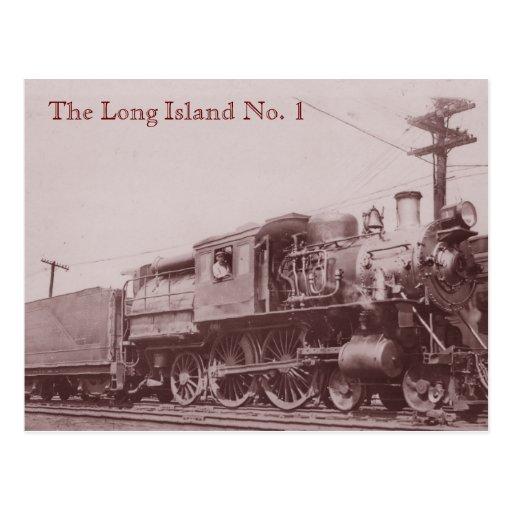 1900 Baldwin Locomotive Postcard