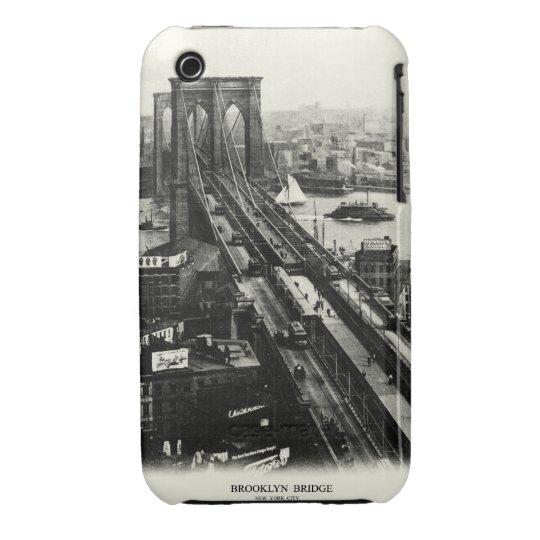 1900 Brooklyn Bridge iPhone 3 Cover