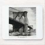 1900 Brooklyn Bridge Mouse Pad