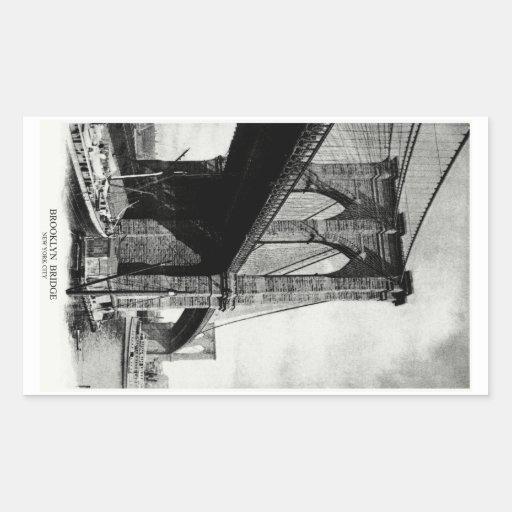 1900 Brooklyn Bridge Sticker