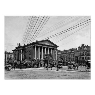 1900 Courthouse Nashville Tennessee Print