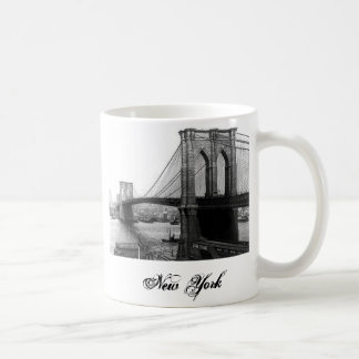 1900 East River Bridge NYC Mug