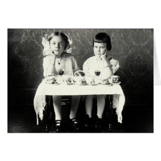 1900 Girlfriends Tea Party Card