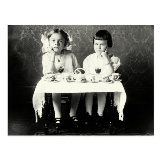 1900 Girlfriends Tea Party Post Cards