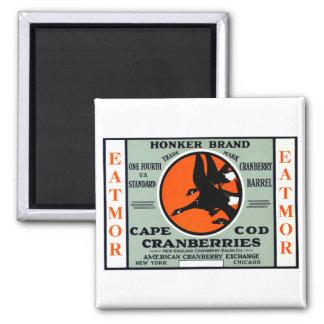 1900 Honker Brand Cranberries Fridge Magnets