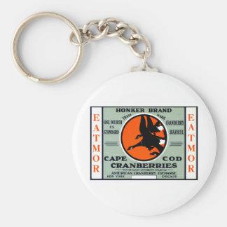 1900 Honker Brand Cranberries Key Chain