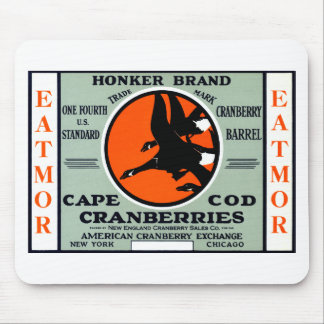 1900 Honker Brand Cranberries Mouse Pad