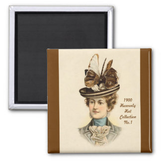 1900 imán de la colección No.1 del gorra de la mod
