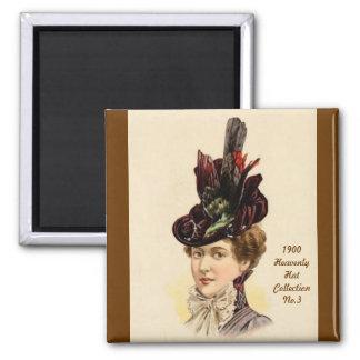 1900 imán de la colección No.3 del gorra de la mod