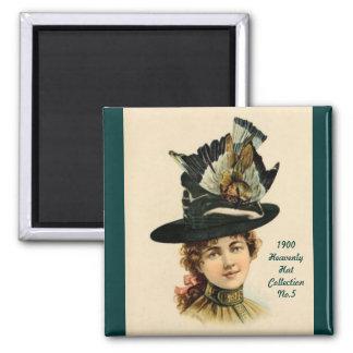 1900 imán de la colección No.5 del gorra de la mod