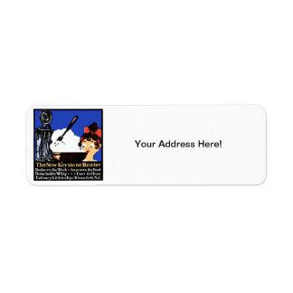 1900 Keystone Beater Return Address Label