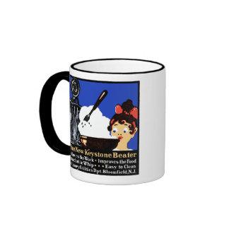 1900 Keystone Beater Ringer Coffee Mug